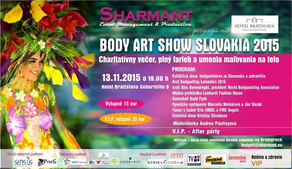 Body Art Show Slovakia 2015 Obchodna Ulica